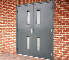 Steel Hinged Fire Doors